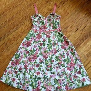 Elevenses Anthropologie Vintage Floral Dress